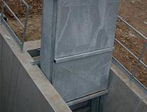 Вертикална верижна решетка – Chain type vertical bar screen CP